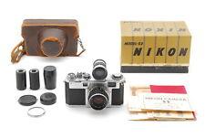 【Optical Mint in Box】Nikon S2 35mm Rangefinder Nikkor-H・C 50mm f/2 Japan 348