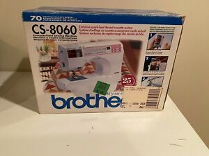 Brother computerized sewing machine CS 8060 - Open Box