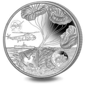 2020 Ascension Island 50th Ann. Apollo 13 UHR 2 oz Silver Coin - 650 Mintage