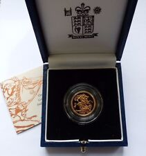 1999 GOLD PROOF HALF SOVEREIGN