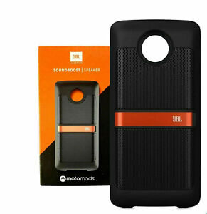 Motorola MotoMods Moto Z JBL SoundBoost Powerful Stereo Speaker - Black