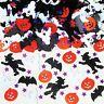 Halloween Party Tisch Folie Konfetti Kürbis Geist Spinne Schläger Deko Gruselig