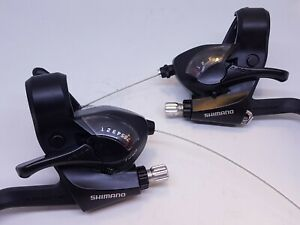 Shimano 7 Speed Rapidfire 21 Gears shifters Brake lever pod combination ST-EF41