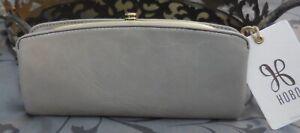 Hobo International ~POISE Vintage Leather Bifold Clutch Wallet ~GREY~ NWT $118