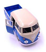 VW Bulli T1 Bus Pick Ups Double Cabin LIZENZPRODUKT 1:34-1:39 versch. Farben