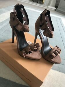 Public Desire Ruffle Shoes . New . Size 6 . Tall Shoes