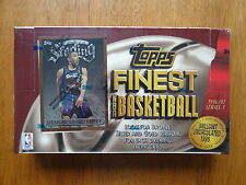 ✭ Topps Finest 1996 - 97 S1 NBA  SEALED BOX Jordan Refractor Bryant Rookie ✭