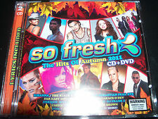 So Fresh Hits Of Autumn 2011 CD DVD Ft Rihanna Pink Kesha Bitney Spears Usher &