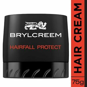Brylcreem Hairfall Protect Hair Styling Cream, 75g + Free Shipping WorldWide