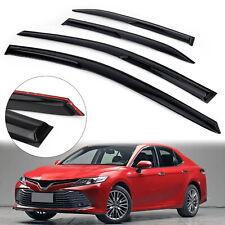 Car Window Sun Rain Guard Visors Mug Type Acrylic For 2018-2020 Toyota Camry US