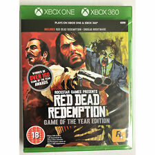 Red Dead Redemption Game of the Year GOTY (Xbox One & Xbox 360) New and Sealed