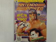 VINTAGE NINTENDO POWER MAGAZINE VOL.105/ FEB.1998 WCW Vs.NWO : WORLD TOUR