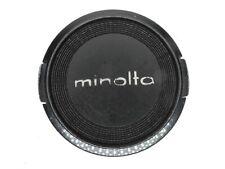 Minolta 57mm Snap On Front Camera Lens Cap For 55mm Filter Ring
