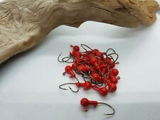 25 pk. 1/16 oz. painted jigs with Collar and #4 Bronze Sickle Hook