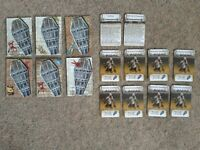ZOMBICIDE *NEW* CUSTOM COFFIN SET ALT TOKENS & CARDS - BLACK PLAGUE/GREEN HORDE