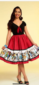 Pinup couture - Pinup Girl Clothing Vintage 1950's Natalie Love&Rockets Dress 2x