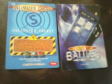 Dr who battles in time test cards number 79 unlimited credit y