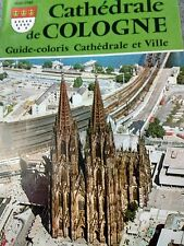 Souvenir Guide Cathedral de Cologne Germany 1880-1980 VG Condition