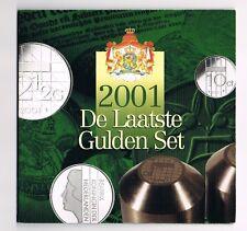 """MUNTSET 'DE LAATSTE GULDEN SET""""  in blister 2001"""