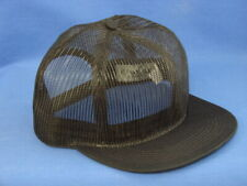 High Crown - Trucker Hat - Black All Mesh - K Brand K Products - US Assembled
