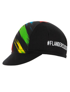 2021 UCI Flanders Worlds Cycling Cap Made in Italy by Santini