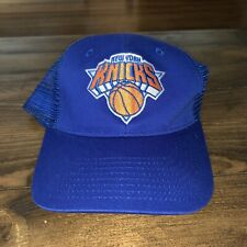 New York Knicks Plain Logo Strapback Hat NBA Basketball One Size Fits All