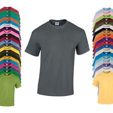 Gildan T-Shirt HEAVY COTTON Kurzarm Einfarbig S M L XL XXL 3XL 4XL 5XL Neu G5000