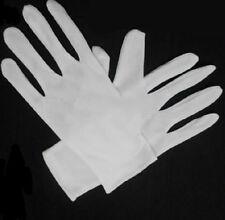 Mélange de coton pendant Micro blanc pointillé Grip déplacement gants 2 paires NI