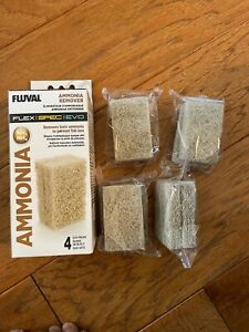 FLUVAL A1333 FLEX SPEC EVO AMMONIA REMOVER 8PK SEE STORE FOR FLEX FOAM BLOCK