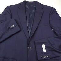 Calvin Klein Malbin Suit Separate Jacket Blazer Mens Size 44R Slim Fit Blue