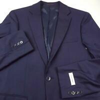 Calvin Klein Malbin Suit Separate Jacket Blazer Mens Size 42R Slim Fit Dark Blue