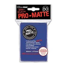 1 box 600 Ultra Pro-Matte Blue Deck Protector Sleeves MTG Magic The Gathering
