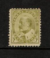Canada SC# 92, Mint Hinged, Hinge Remnant, minor gum toning - S2645