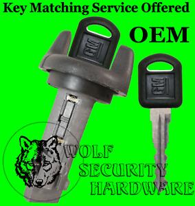 Chevy GMC Isuzu Olds Ignition Key Switch Lock Cylinder Tumbler 703935 2 GM Keys