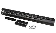 "223 15"" ULTRA SLIM Super Slim Keymod Light Handguard One Piece Free Float"