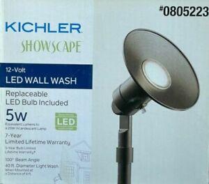 Kichler 400-Lumen 5-Watt Olde Bronze 12V LED Landscape Wall Wash Flood Light