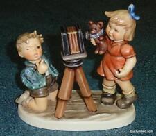 """Camera Ready"" GOEBEL HUMMEL FIGURINE #2132 TMK8 - ADORABLE Collectible Gift!"