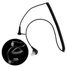 3.5MM Plug Port Listen Only Headset Earpiece Single Earphone Clear Acoustic Tube
