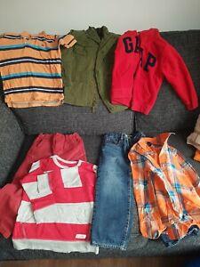 GAP BABY GAP BUNDLE AGE 4. JEANS, TOPS, JACKET AND HOODIE