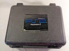 Sony Playstation 2 Slim Console PS2 Hard Plastic Travel Case Bag Blockbuster