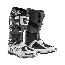 Gaerne SG-12 Black White Men's Size 8 MX Off Road Motorcycle Boots 2174-014-008