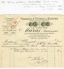 Paris VIII ème 66 Bld Malesherbes - Vitrerie Expo Universelle 1889 du 02/04/1896