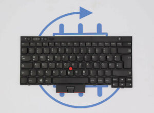 Tastatur Laptop Lenovo FRU 04X1213 ThinkPad X230 T430 T530 GER Layout