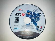 Playstation 3 PS3 NHL 12 DISC ONLY!