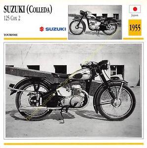 Stecker Foto Moto Japan Japan Suzuki 125 Cox 2 Colleda 1955 Edito Service