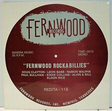 Rare Rockabilly LP - V/A - Fernwood Rockabillies - Holland Import - Redita #118
