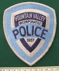 OBSOLETE Fountain Valley Police patch
