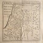 Holy Land c.1730 Engraved Map - The Kingdoms of Judah & Israel by Emanuel Bowen
