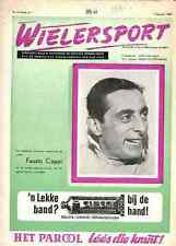 FAUSTO COPPI Bianchi World champion TOUR DE FRANCE Wielersport 1960 NL magazine