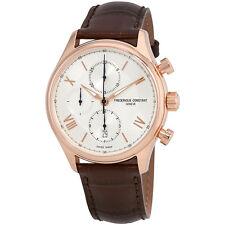 Frederique Constant Silver Dial Mens Chronograph Watch FC-392MV5B4